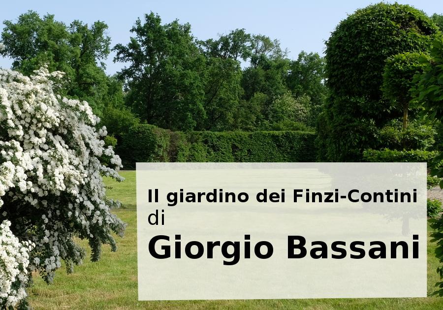 Il giardino dei Finzi-Contini di Giorgio Bassani, romanzo, 1962