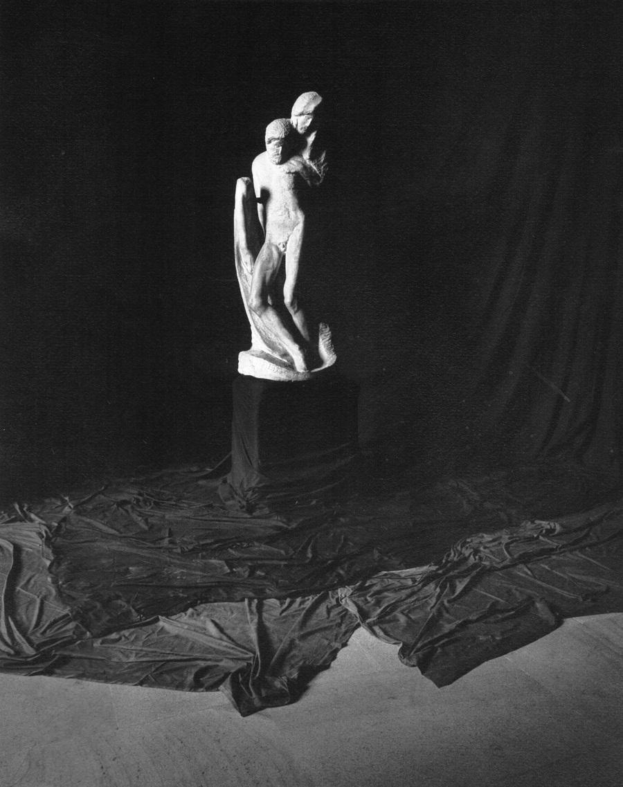 Pietà Rondanini di Michelangelo al Castello Sforzesco, Milano